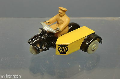 DINKY TOYS MODEL No.270 'A.A.' MOTORCYCLE PATROL  CODE 3