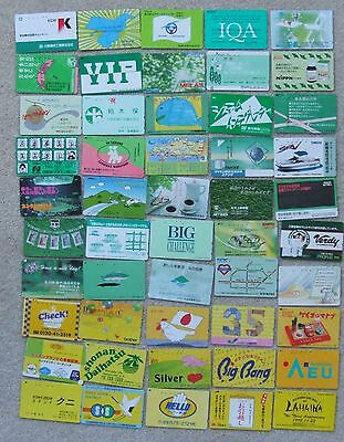 50 old Japan Telephone cards