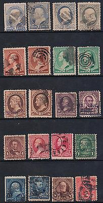 U.S.  Presidents  Lot of 20 stamps,  used