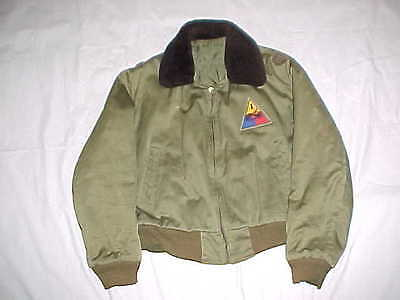 Private-Purchase Type B-15 Tanker Jacket w/ Insignia & Provenance to 1st AD Maj.