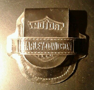 Harley Davidson Chained Pocket Watch Holster