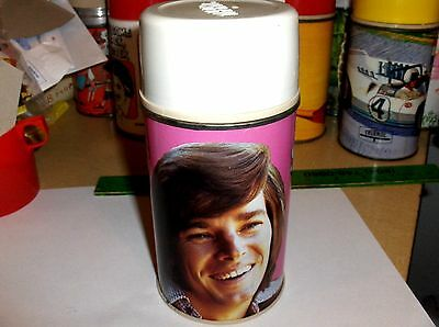 Bobby Sherman`1972`Hit Pop Singer,Thermos Co,Metal Lunchbox->Thermos->Un-Screws