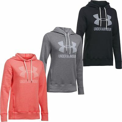 Under Armour 2017 Ladies Favorite Fleece Sportstyle Hoody Womens Sports Hoodie