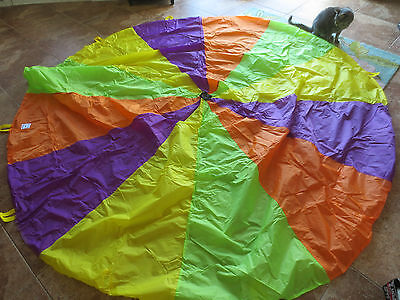 Pacific Play Tents Playchute Parachute 12 Handle 9ft Toy #18000