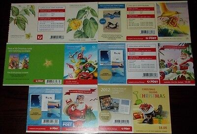 * Christmas Island Mint Stamp Booklets 2000 Onwards - Choose Booklet