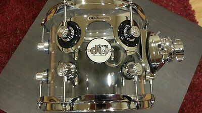 IN STOCK! DW Drum Workshop Design Series Seamless ACRYLIC 7x8 Rack Tom
