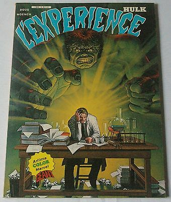 HULK GEANT - N° 11 - L'EXPERIENCE - Moench, Colan, Alcala - 1982