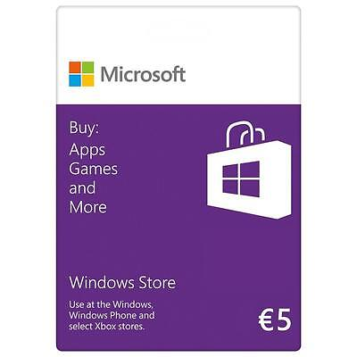 MICROSOFT MS ESD Gift Card AGENCY Online 5 EUR