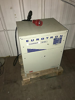 Eurotron 48/150 Electric Forklift Battery Charger Full Working Order Three Phase