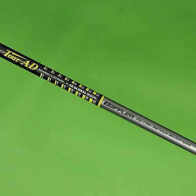 "Genuine Graphite Design Baffler 65g Stiff Flex Hybrid Golf Shaft 42"" New"