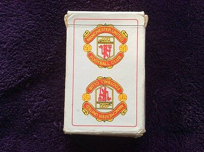 Manchester United Football Crest, Pack Of Playing Cards