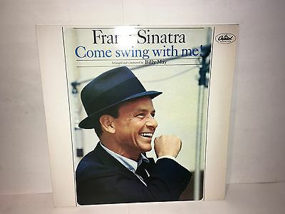 Frank Sinatra Come Swing With Me Lp