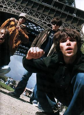 The Stone Roses - Full Band Magazine Picture / Photo Cutting - RARE - Ian Brown