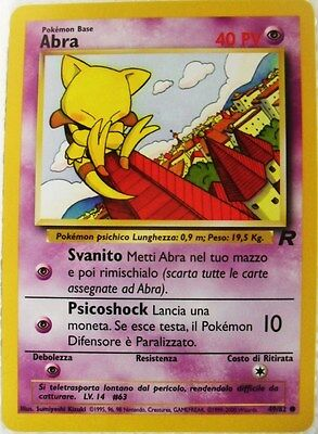 POKEMON TEAM ROCKET unlimited 79//82 Italiano-MINT//NEAR MINT DORMI