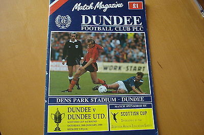 Dundee V Dundee United                       Scottish Cup                28/1/89