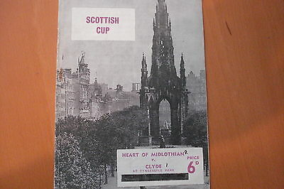 Heart Of Midlothian (Hearts) V Clyde                 Scottish Cup         9/2/66
