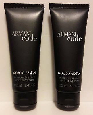 Armani Code After Shave 150ml (2x75ml)