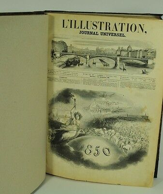 L`illustration - Journal Universel. Vol. XV. No. 358, 5. Jännner 1850 - No. 383.