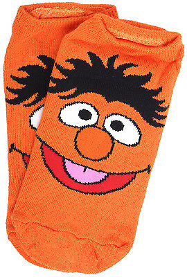 Sesame Street Character Socks Multi-Colored 5-Pack Juniors 14 and Up Sizes 5-10