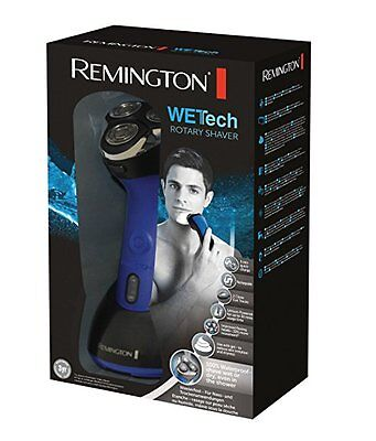 Remington AQ7 Wet Tech Rotary Shaver Waterproof Wet/Dry Shaver Rechargeable