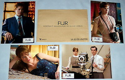 FUR Diane Arbus Photography Nicole Kidman Robert Downey Jr 4 FRENCH LOBBY CARDs