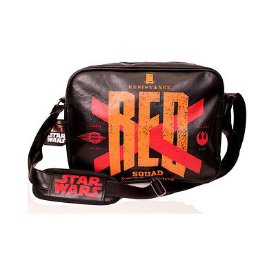 NEW! Star Wars Vii The Force Awakens Resistance 'Red Squad' X-Wing Messenger Bag
