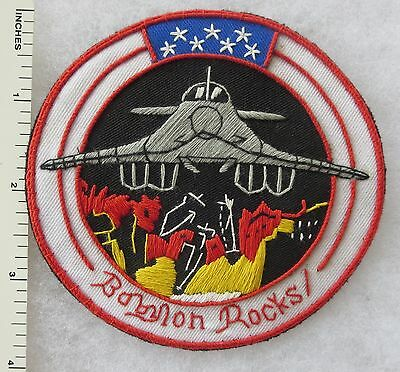 34th BOMB SQUADRON B-1 BABYLON ROCKS US AIR FORCE PATCH Custom Made for VETERANS