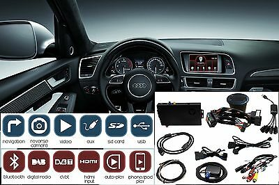 ADAPTIV Audi Q5 2012-2016 MMI farben 6.5 navigation Bluetooth iPhone USB e AUX