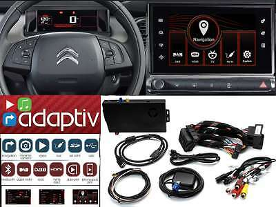 "ADAPTIV Citroën C4 G.Picasso Kaktus C5 DS5 display 7"" navigation BT iPhone USB"