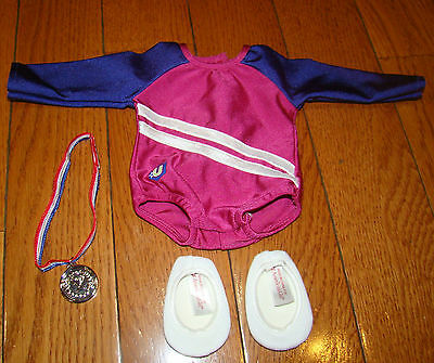American Girl Gymnastics Outfit Leotard Medal Slippers Mckenna Today