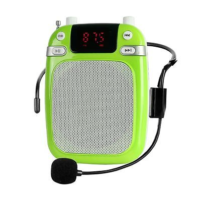 Gojic K17 Portable Voice Amplifier Max 25W 1500mAh Green Wired Edition
