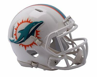 NFL Football Mini Helm Helmet MIAMI DOLPHINS Speed Footballhelm Riddell
