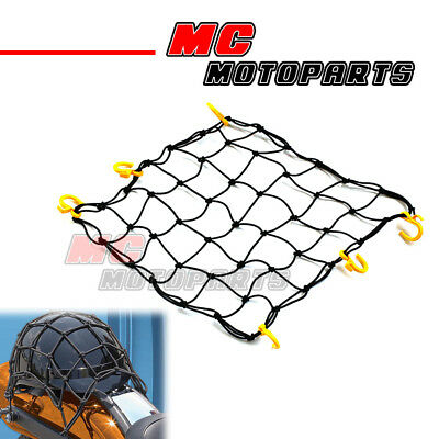 Cargo Net POM Hook Mesh Net Holder Helmet Durable For Motorcycle Car 45x45mm YP