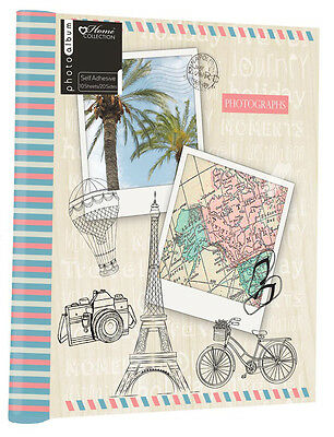 10 Sheet / 20 Sides Photo Album 5x7 Inch Travel Holiday Photograph Book Memories