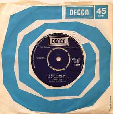 """THIN LIZZY - Whisky In The Jar (7"""") (G+/VG-)"""