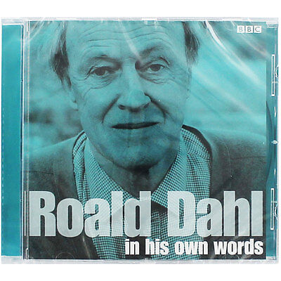 Roald Dahl In His Own Words - Audio Book (CD), Books, Brand New