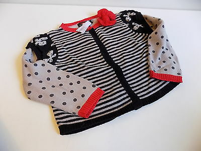 Catimini girls super soft knitted cardigan size 12-18 months 18m