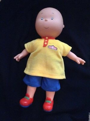 FAMOSA 14.5 inch CAILLOU DOLL Very Gently Played With EXCELLENT CONDITION!