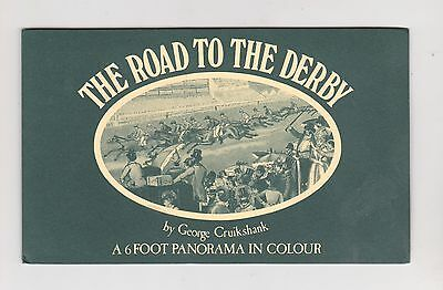 Booklet, The Road To The Derby, By George Cruikshank, C.1970's?