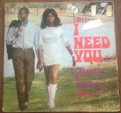 DANDY AND AUDREY - I NEED YOU - UK DOWNTOWN LP 1968 Rocksteady Ska