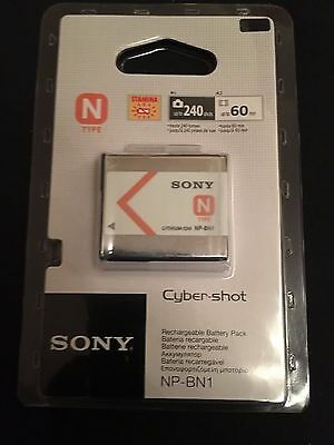 Official Sony Cyber-Shot NP-BN1 Rechargeable Camera Battery NEW