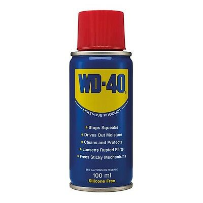 Wd40 100Ml Lubrication Stops Squeeks Cleans Car Van Garage Doors Bikes