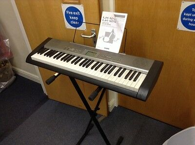 Casio Lk120 Key Lighting System Keyboard With Carry Case And Stand