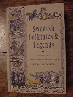 1993 PB Book, SWEDISH FOLKTALES AND LEGENDS edited by Lone & George Blecher