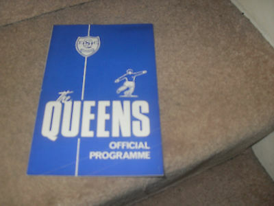 Queen of the South v Albion Rovers 1/3/69