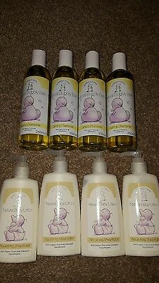 Humphreys Corner Baby Bath and Lotion. 8 bottles.
