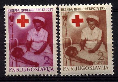 2243 YUGOSLAVIA 1953 Red Cross **MNH