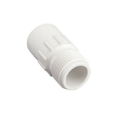 """Orbit 1/2"""" Slip PVC x Male Hose Thread - Pipe Connector Fittings Adapter - 53362"""