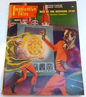 Imaginative Tales – US Digest – March 1958 – Vol.5 No.2 - Edmond Hamilton