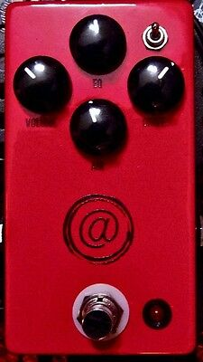USED JHS PEDALS THE AT @ ANDY TIMMONS SIGNATURE OVERDRIVE PEDAL w/ 0$ US S&H
